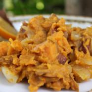 Citrus Sweet Potato with Saffron and Cinnamon