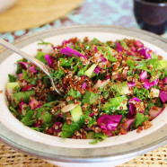 Incan Power Salad with Quinoa and Toasted Sunflower Seeds