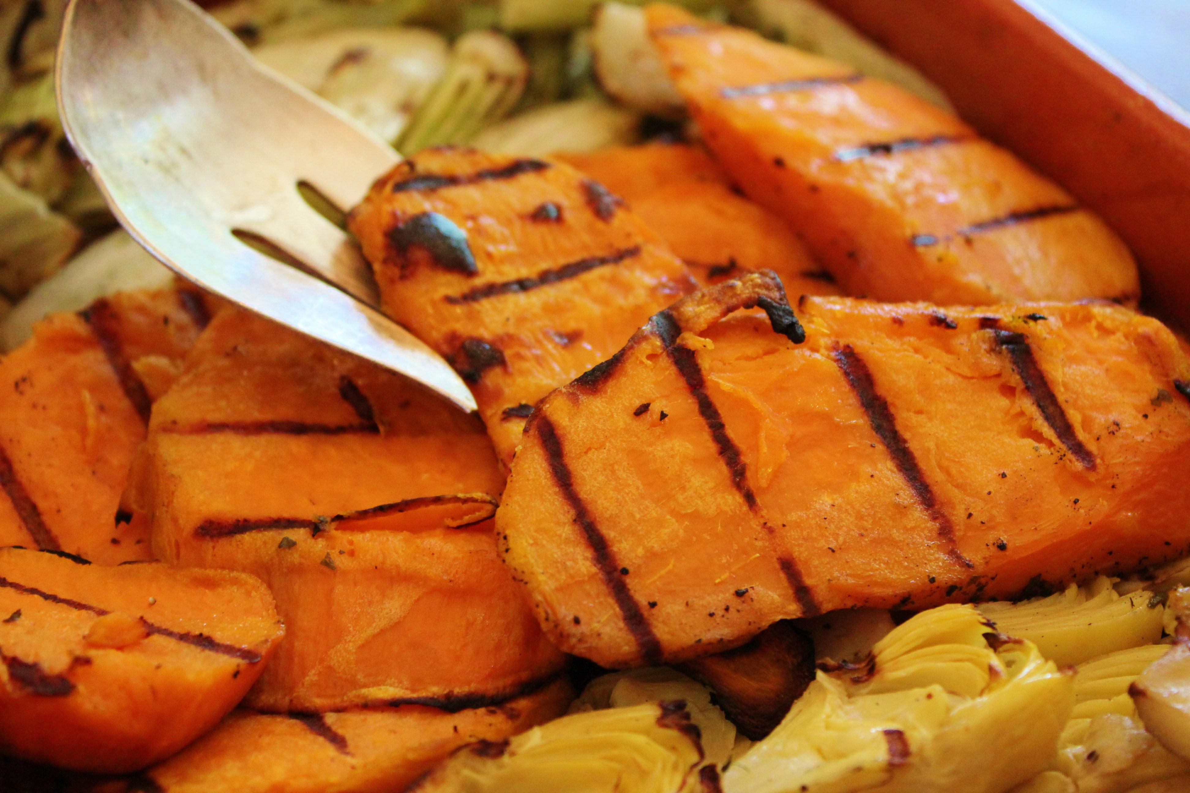 sweet potatoes the best roasted sweet potatoes bourbon sweet potatoes ...