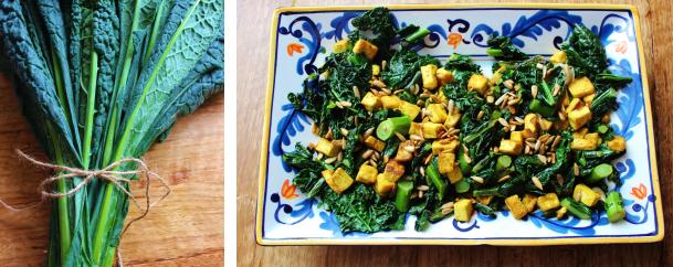 Kale + Tofu